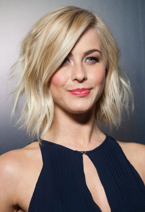22 Sassy Shag Haircuts For Women 2018 | Styles Weekly Regarding Icy Blonde Shaggy Bob Hairstyles (View 4 of 25)