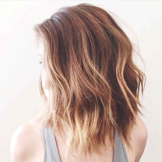 22 Tousled Bob Hairstyles – Popular Haircuts Regarding Tousled Shoulder Length Ombre Blonde Hairstyles (View 21 of 25)