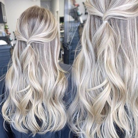 23+ Beautiful Platinum Blonde Hair Color Ideas | Pinterest | Golden Throughout Golden And Platinum Blonde Hairstyles (View 8 of 25)