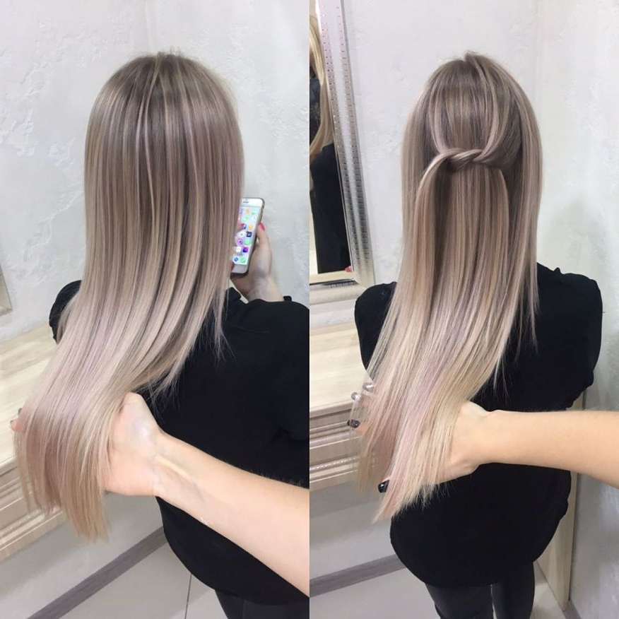 Featured Photo of Sleek Ash Blonde Hairstyles