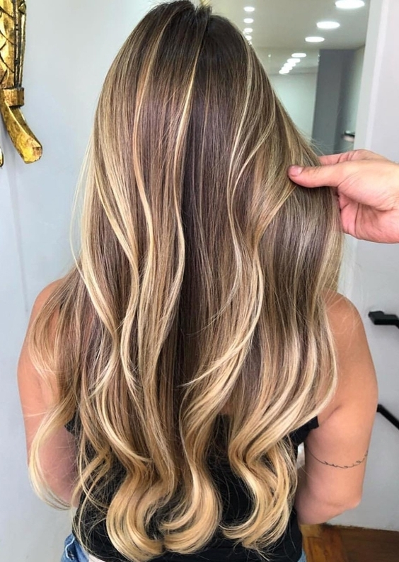 23 Best Butterscotch Waterfall Hairstyles & Hair Color Ideas For For Butterscotch Blonde Hairstyles (View 4 of 25)
