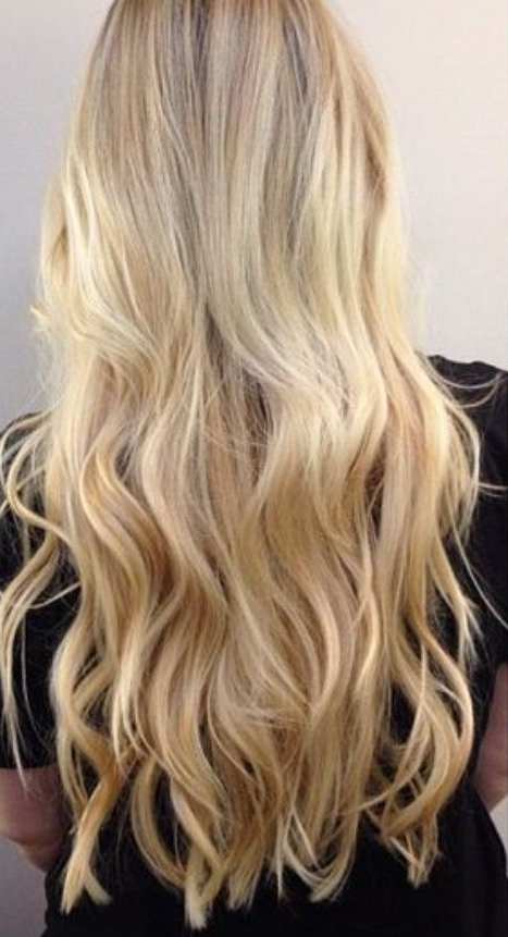 23 Best Cool Blonde Hair Colors Images On Pinterest | Blonde Hair Inside Bodacious Blonde Waves Blonde Hairstyles (View 7 of 25)