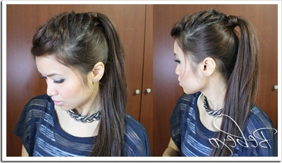 23 Hairstyles For Moms Who Rock | Babble Within Punky Ponytail Hairstyles (View 21 of 25)