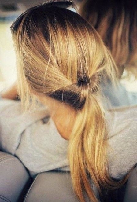 24 Beautiful Hairstyles For Thin Hair 2017 – Pretty Designs Within Two Toned Pony Hairstyles For Fine Hair (View 5 of 25)
