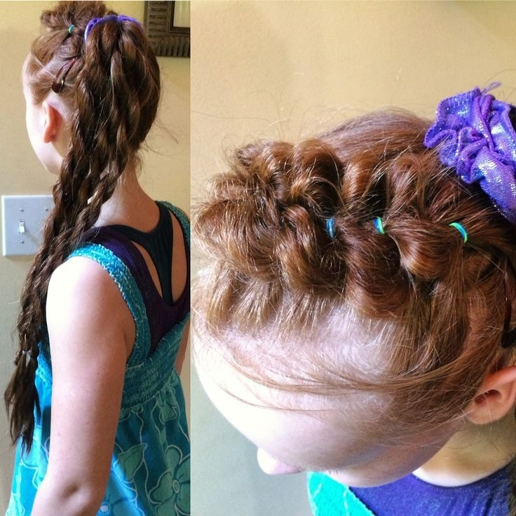 24 Best Ponytail Pizazz! Images On Pinterest | Horse Tail, Pigtail With Regard To Braided Headband And Twisted Side Pony Hairstyles (View 6 of 25)