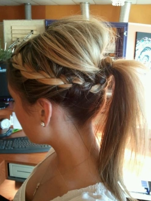 24 Hairstyles For Thin Hair | Styles Weekly Intended For Ponytail Hairstyles For Fine Hair (View 12 of 25)