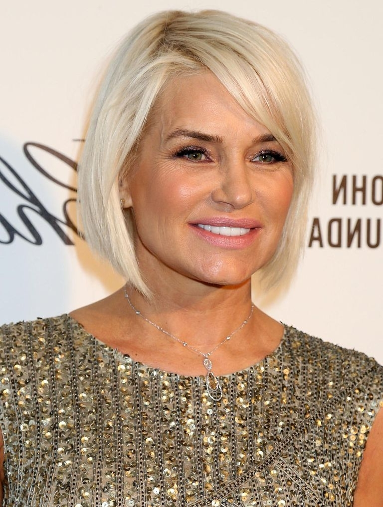 24 Hottest Bob Haircuts For Every Hair Type Pertaining To Recent Side Parted Silver Pixie Bob Hairstyles (View 6 of 25)