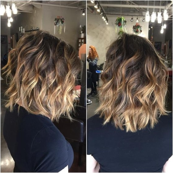 25 Amazing Balayage Hairstyles 2018 – Balayage Color Ideas For Short Regarding Balayage Blonde Hairstyles With Layered Ends (View 7 of 25)