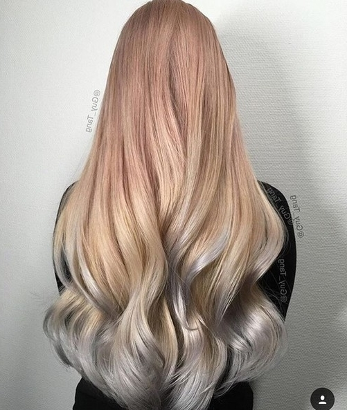 25 Amazing Two Tone Hair Styles & Trendy Hair Color Ideas 2018 With Two Toned Pony Hairstyles For Fine Hair (View 8 of 25)