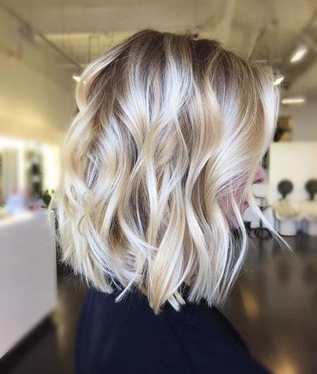 25+ Best Blonde Bob Hairstyles 2017 – Blonde Hairstyles 2017 With Curly Caramel Blonde Bob Hairstyles (View 7 of 25)