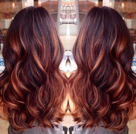25 Best Hairstyle Ideas For Brown Hair With Highlights – Belletag With Maple Bronde Hairstyles With Highlights (View 8 of 25)