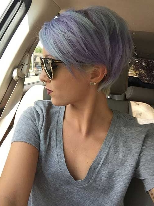 25 Best Short Pixie Cuts | W?osy | Pinterest | Short Pixie, Pixie Inside Latest Lavender Pixie Bob Hairstyles (View 3 of 25)