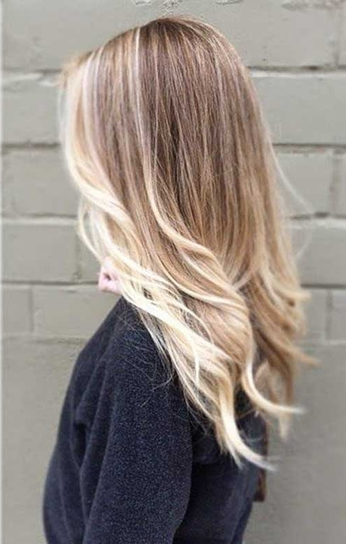25+ Brown And Blonde Hair Ideas | Hairstyles & Haircuts 2016 – 2017 With Tortoiseshell Straight Blonde Hairstyles (View 4 of 25)
