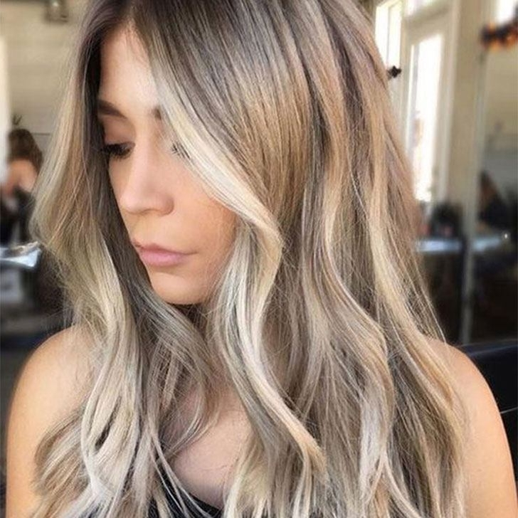 25 Chic Haircuts For Thick Hair Of Any Length In Choppy Cut Blonde Hairstyles With Bright Frame (View 6 of 25)