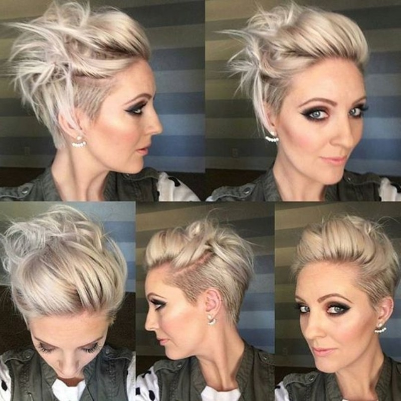 25 Edgy Pixie Undercut Ideas To Try Right Now! [August, 2018] With Most Recently Sassy Undercut Pixie Hairstyles With Bangs (View 3 of 25)