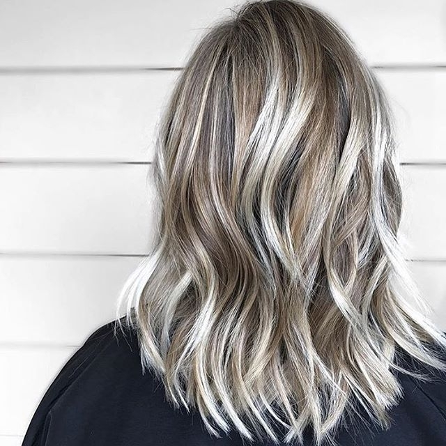 25 Exciting Medium Length Layered Haircuts – Popular Haircuts Intended For Brown Blonde Layers Hairstyles (View 14 of 25)