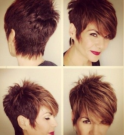 25 Fabulous Short Spikey Hairstyles For Women And Girls | Pinterest Inside Best And Newest Sassy Pixie Hairstyles For Fine Hair (View 19 of 25)