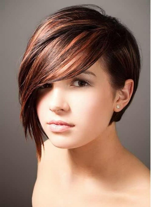 25 Gorgeous And Flattering Short Hairstyles For Round Faces With Regard To Current Asymmetrical Long Pixie Hairstyles For Round Faces (View 6 of 25)