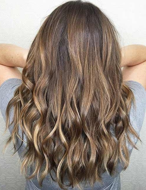 25 Gorgeous Highlight Ideas For Dark Hair For Sunkissed Long Locks Blonde Hairstyles (View 7 of 25)