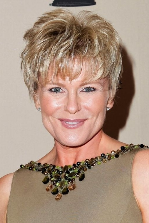 25 Gorgeous Short Hairstyles For Women Over 50 – Haircuts Pertaining To Most Recent Sassy Pixie Hairstyles For Fine Hair (View 18 of 25)