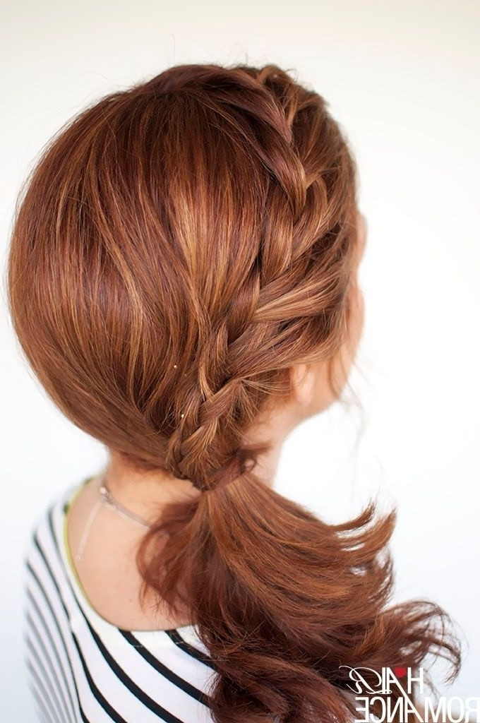 25 Hairstyles For Summer 2018: Sunny Beaches As You Plan Your In Ponytail Hairstyles For Layered Hair (View 11 of 25)