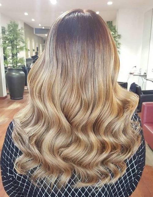 25 Hottest Blonde Balayage Hair Color Ideas – Balayage Hairstyles In Golden Blonde Balayage Hairstyles (View 3 of 25)