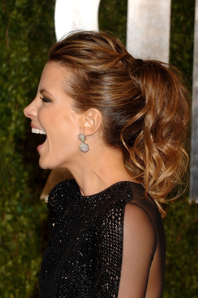 25 Of The Best Oscar Hairstyles Ever | Glamour For Curly Pony Hairstyles For Ultra Long Hair (View 7 of 25)