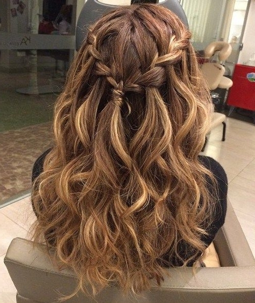 25 Special Occasion Hairstyles | Prom Hair | Pinterest | Half Updo With Beachy Half Ponytail Hairstyles (View 2 of 25)