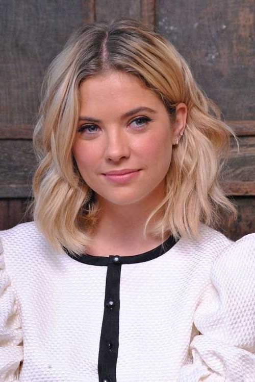 25 Stunning And Charming Wavy Bob Hairstyles | Hairz | Pinterest Intended For Wavy Blonde Bob Hairstyles (View 3 of 25)