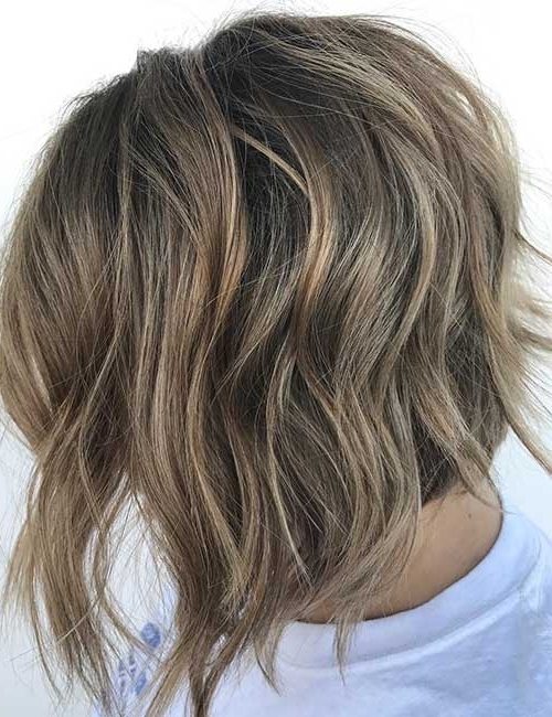 25 Trendy Balayage Looks For Short Hair Inside Newest Feathered Pixie With Balayage Highlights (View 18 of 25)