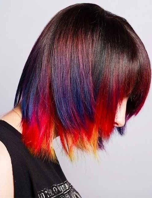25 Trendy Balayage Looks For Short Hair Intended For Latest Feathered Pixie With Balayage Highlights (View 23 of 25)