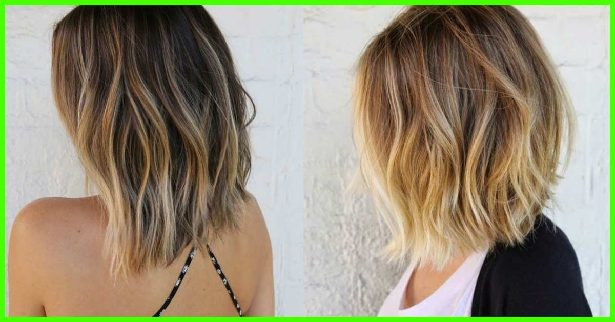 25 Trendy Balayage Looks For Short Hair Throughout Balayage Blonde Hairstyles With Layered Ends (View 8 of 25)