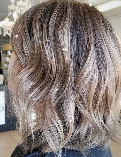 25 Trendy Balayage Looks For Short Hair Throughout Dirty Blonde Balayage Babylights Hairstyles (View 5 of 25)