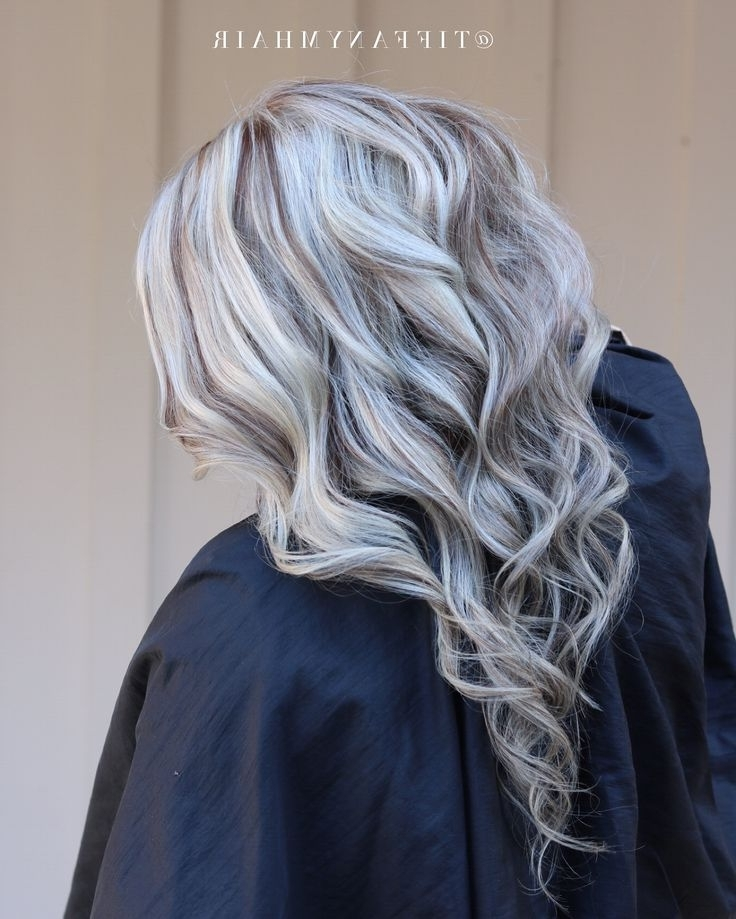 251 Best Beauty And Make Up Images On Pinterest | Short Films, Grey With Regard To Long Bob Blonde Hairstyles With Lowlights (View 25 of 25)