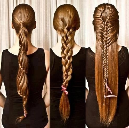 258 Best Hair Images On Pinterest | Long Hair, My Style And Braids With Brunette Macrame Braid Hairstyles (View 19 of 25)