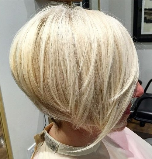 26 Amazing Bob Hairstyles That Look Great On Everyone – Bob With Stacked White Blonde Bob Hairstyles (View 8 of 25)