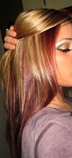 26 Best Hair Images On Pinterest | Hair Colors, Egg Hair And Hair Color In Browned Blonde Peek A Boo Hairstyles (View 8 of 25)
