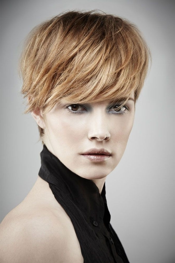 26 Best Short Haircuts For Long Face – Popular Haircuts Within Recent Long Voluminous Pixie Hairstyles