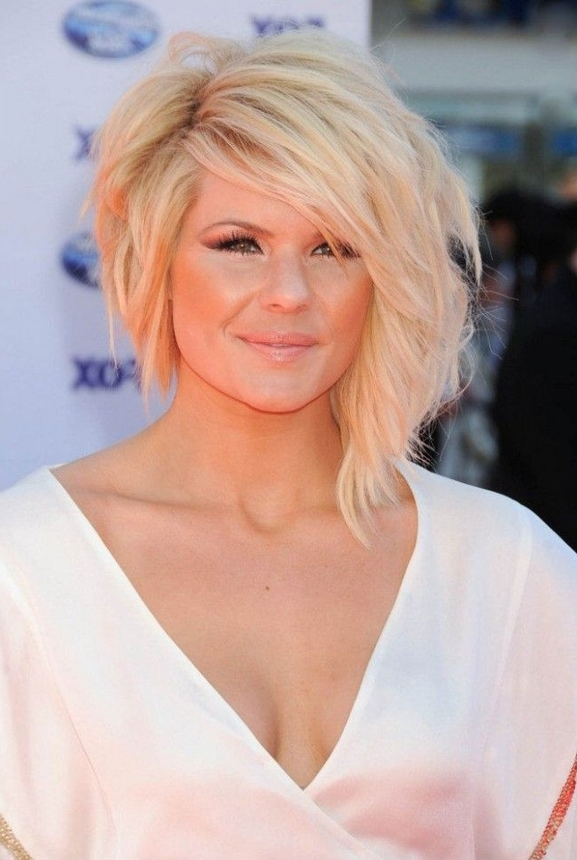 26 Cool Asymmetrical Bob Hairstyles | Styles Weekly With Regard To Platinum Asymmetrical Blonde Hairstyles (View 25 of 25)