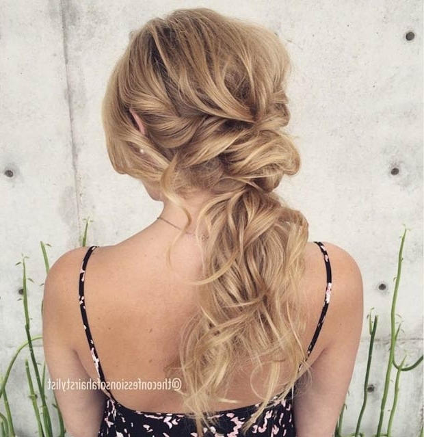 26 Stunning Half Up, Half Down Hairstyles   Stayglam Regarding Beachy Half Ponytail Hairstyles (View 4 of 25)