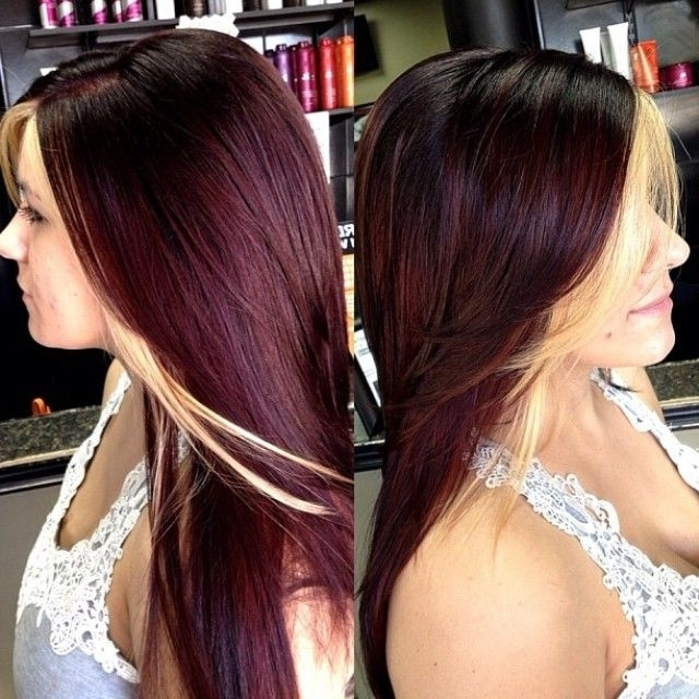 262 Best Hair&makeup I ? Images On Pinterest | Hair Dos, Hairdos In Browned Blonde Peek A Boo Hairstyles (View 6 of 25)