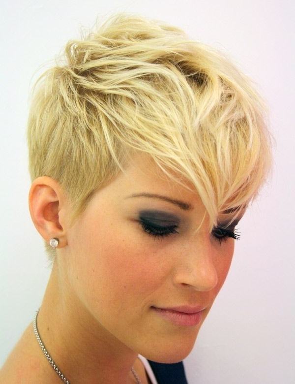 27 Best Short Haircuts For Women: Hottest Short Hairstyles – Page 10 With 2018 Rocker Pixie Hairstyles (View 3 of 25)