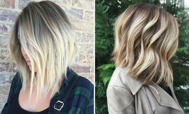 27 Chic Bob Hairstyles And Haircuts For 2017 | Stayglam Regarding Icy Waves And Angled Blonde Hairstyles (View 3 of 25)