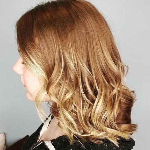 27 Yummiest Strawberry Blonde Hair Colors For 2018! Inside Medium Honey Hued Blonde Hairstyles (View 2 of 25)