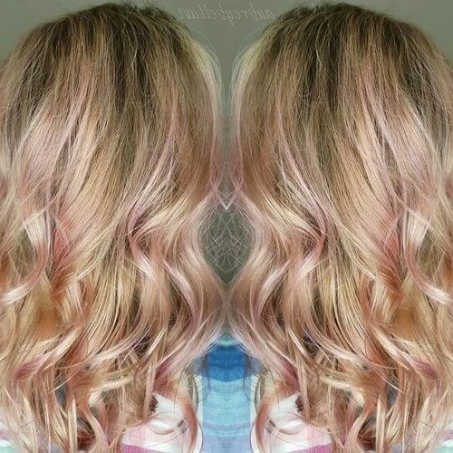 27 Yummiest Strawberry Blonde Hair Colors For 2018! Intended For Loose Curls Blonde With Streaks (View 8 of 25)