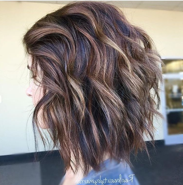 28 Best New Short Layered Bob Hairstyles – Popular Haircuts Within Curly Highlighted Blonde Bob Hairstyles (View 13 of 25)