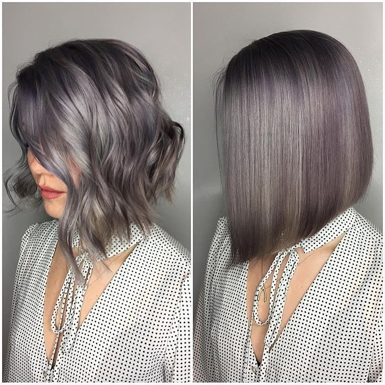 28 Best New Short Layered Bob Hairstyles – Popular Haircuts Within Short Silver Blonde Bob Hairstyles (View 9 of 25)