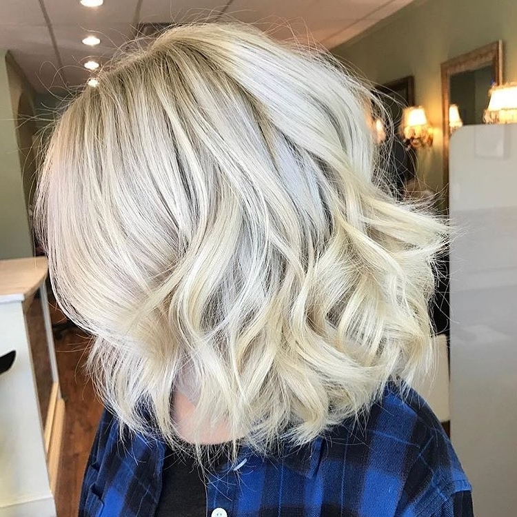 28 Blonde Hair With Lowlights So Hot You'll Want To Try'em All (New Pertaining To Messy Blonde Lob With Lowlights (View 4 of 25)