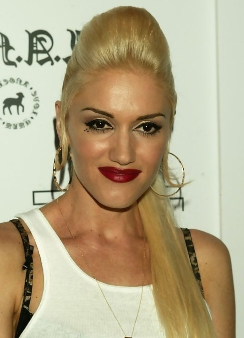 28 Gwen Stefani Hairstyles  Gwen Stefani Hair Pictures – Pretty Designs With Bouffant Ponytail Hairstyles (View 5 of 25)