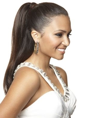 29 Gorgeous Prom Hairstyles 2018 – Cute & Easy Prom Hair Inspiration Regarding Fancy Sleek And Polished Pony Hairstyles (View 13 of 25)